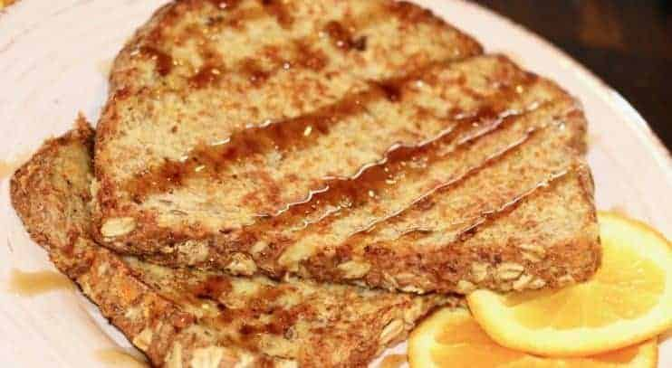 Vegan Cinnamon Orange French Toast