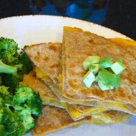 Vegan Butternut Squash Quesadillas