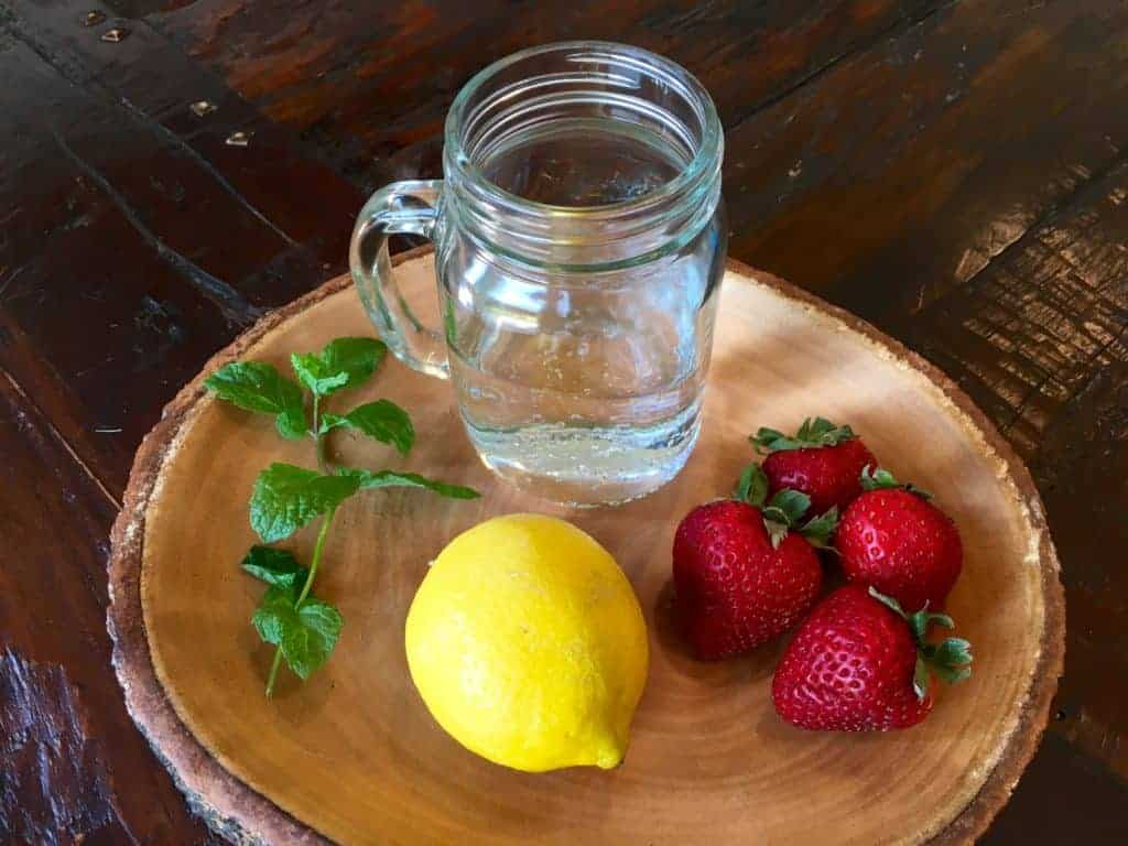 Strawberry Mint Lemonade Ingredients