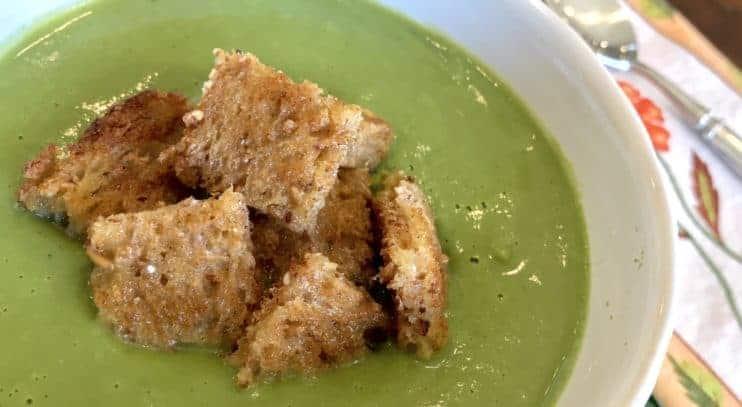 Vegan Super Greens Soup