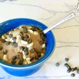 Vegan Chocolate Soft Serve Ice Cream