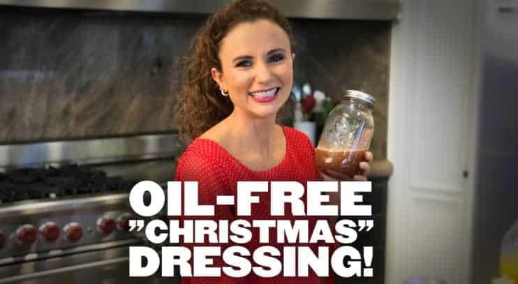 Oil-Free Christmas Dressing
