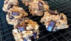 Vegan and Gluten-free Elvis Cookies
