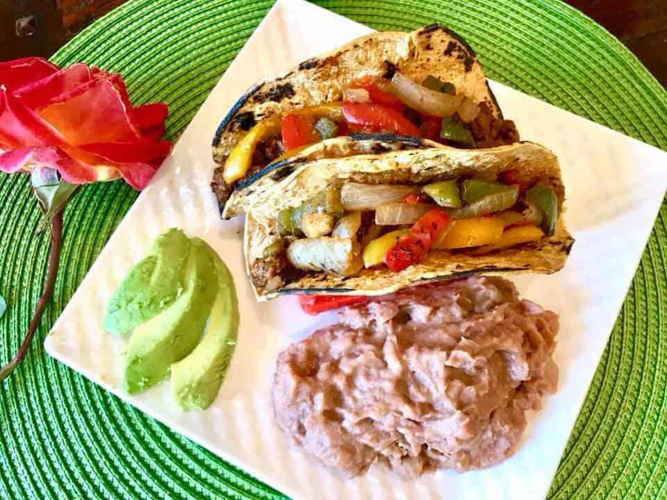Vegan Fajita Tacos