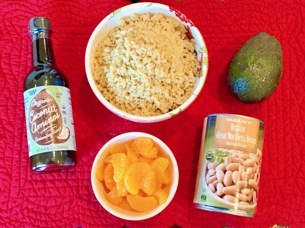 Ingredients for 5-Ingredient Quinoa Bowls