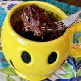 Lighter Chocolate Mug Cake