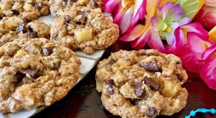 Hawaiian Chocolate Chunk Cookies