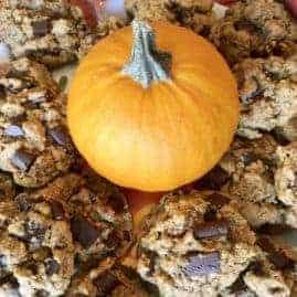 Vegan Pumpkin Spiced Cookies