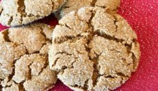 Vegan and Gluten-Free Ginger Snaps