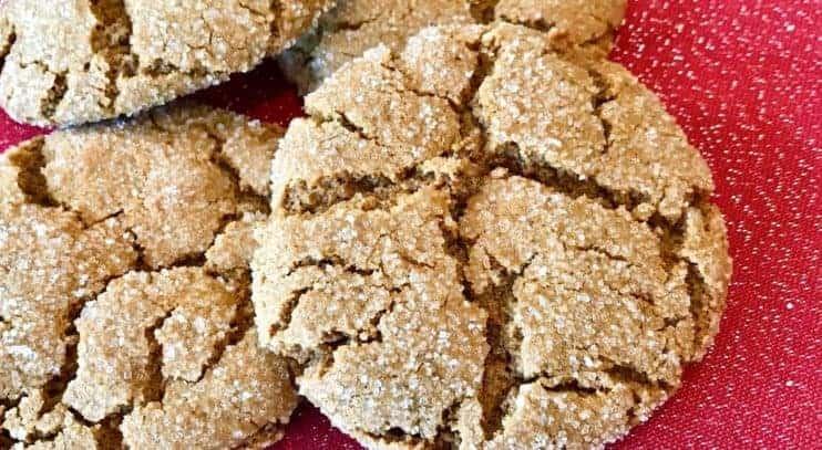 Vegan and Gluten-Free Ginger Snaps