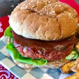 Beyond Meat Meatloaf Burger