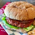 Beyond Meat Meatloaf Burgers!