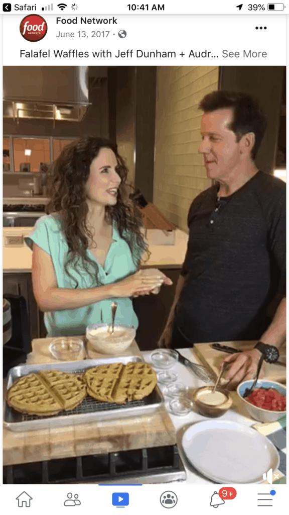 Audrey Dunham Jeff Dunham Food Network Live