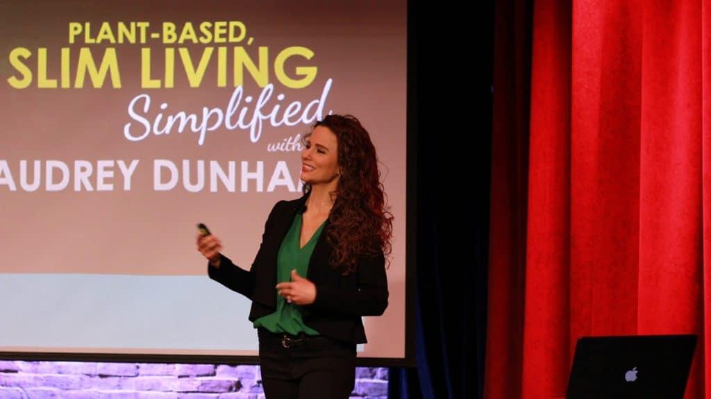 Audrey Dunham Vegan Nutrition Seminar