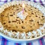 The Mega Deep Dish Cookie Cake