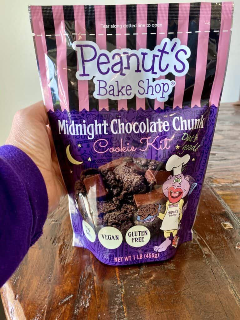 Peanut's Bake Shop Midnight Cookie Kit